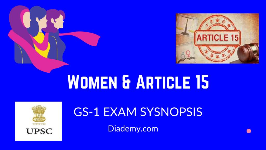 Women & Article 15