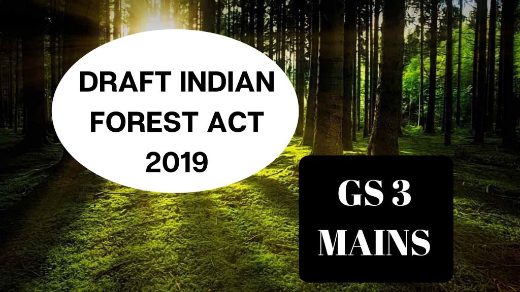 Indian Forest Act 2019