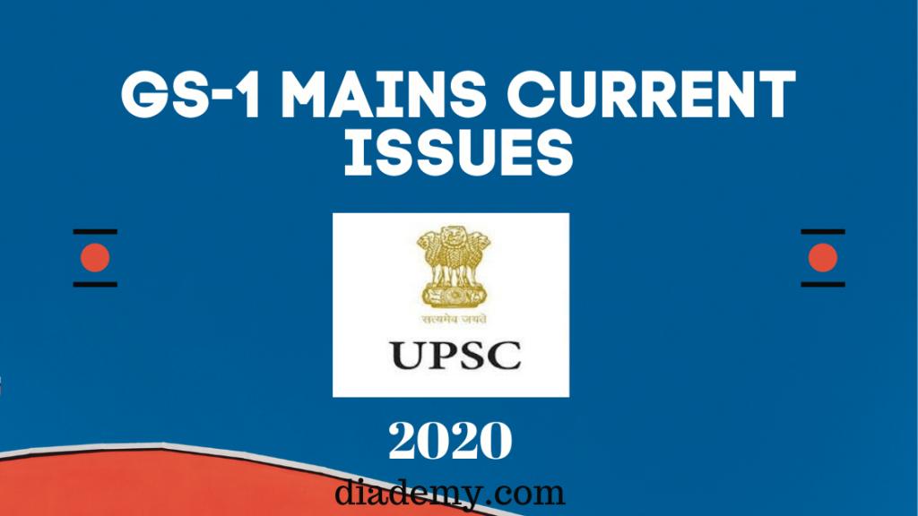 UPSC GS PAPER 1
