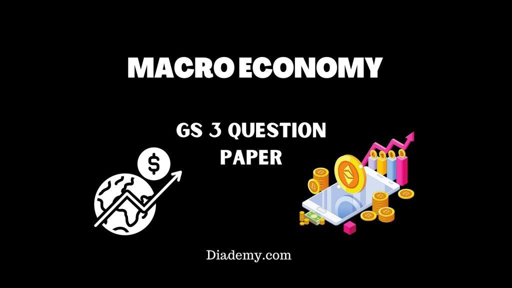 GS 3 Macro Economy