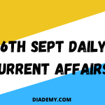 TODAY's MOST POWERFUL DAILY CURRENT AFFAIRS CONCEPTS-26TH-SEPT,2020