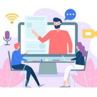 a online live class