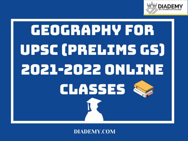 Geography prelims 2021