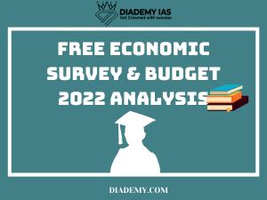 economy survey and budget